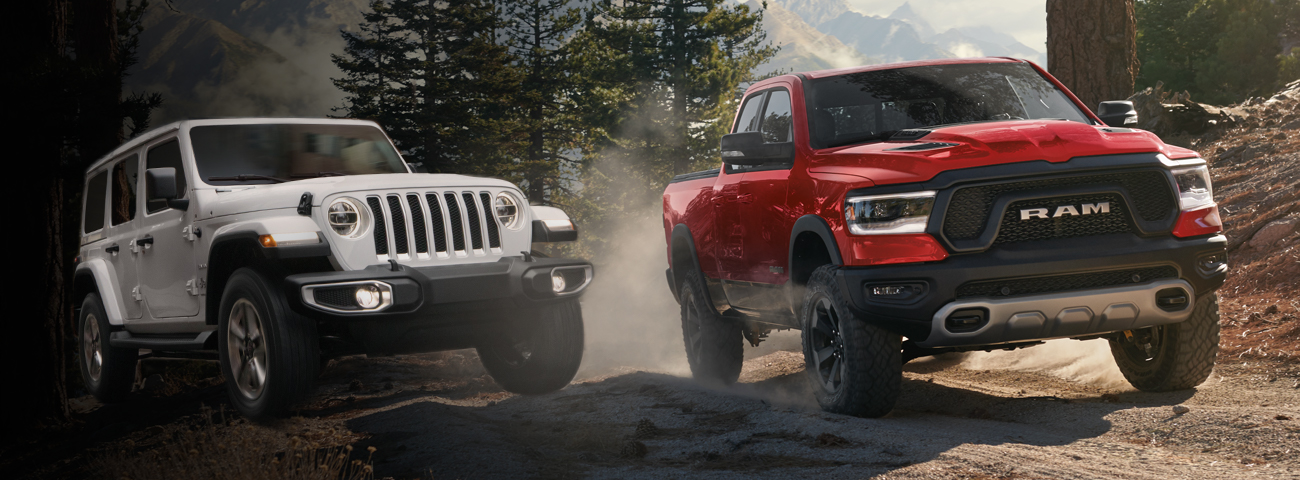 Wrangler and Ram Hybrid models
